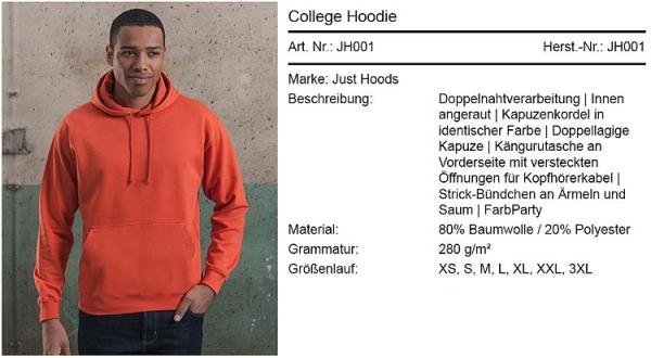 Herren Hoodie Y104