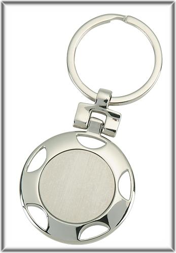 Edler Schlüsselanhänger aus Edelstahl PDD103
